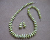 Lime jade set