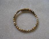 Picture jasper memory bracelet