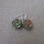 Unakite earrings