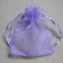 Purple organza bag