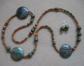 Jasper and bayong wood set