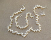 Freshwater pearls set