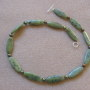 Canadian jade and freshwater pearls necklace