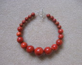 Sponge coral necklace bracelet