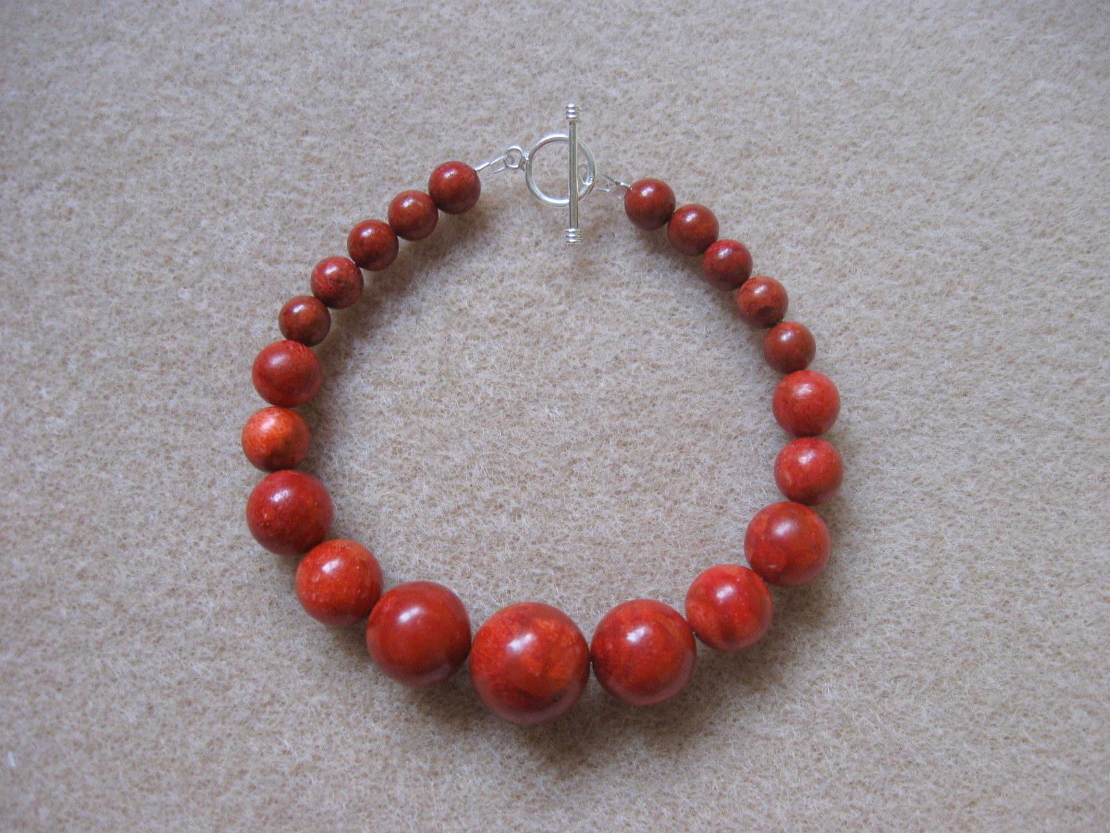 Sponge coral necklace bracelet