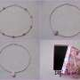 Seed beads and rhodonite necklaces for girls collage