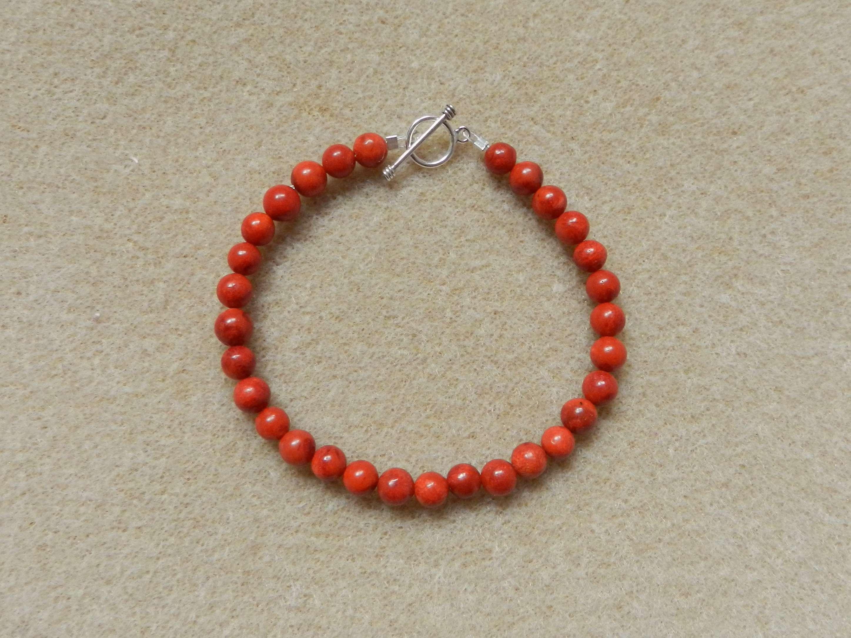 Sponge coral bracelet
