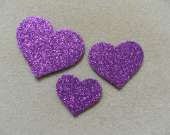 Purple heart magnet set
