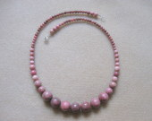 Rhodonite necklace