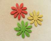 Mix flower magnet set