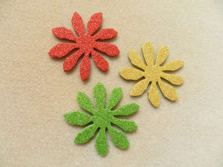 Mix flower magnet set