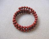 Sponge coral memory bracelet