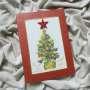 Christmas decoration - Christmas tree (red)
