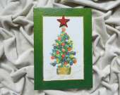 Christmas decoration - Christmas tree (green)