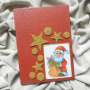 Christmas decoration - Santa Claus (red)