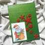 Christmas decoration - Santa Claus (green)