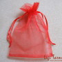 Red organza bag