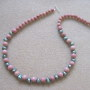 Rhodonite and freshwater pearls necklace