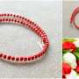 Toho beads necklace for girls collage