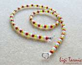 Toho beads girls necklace