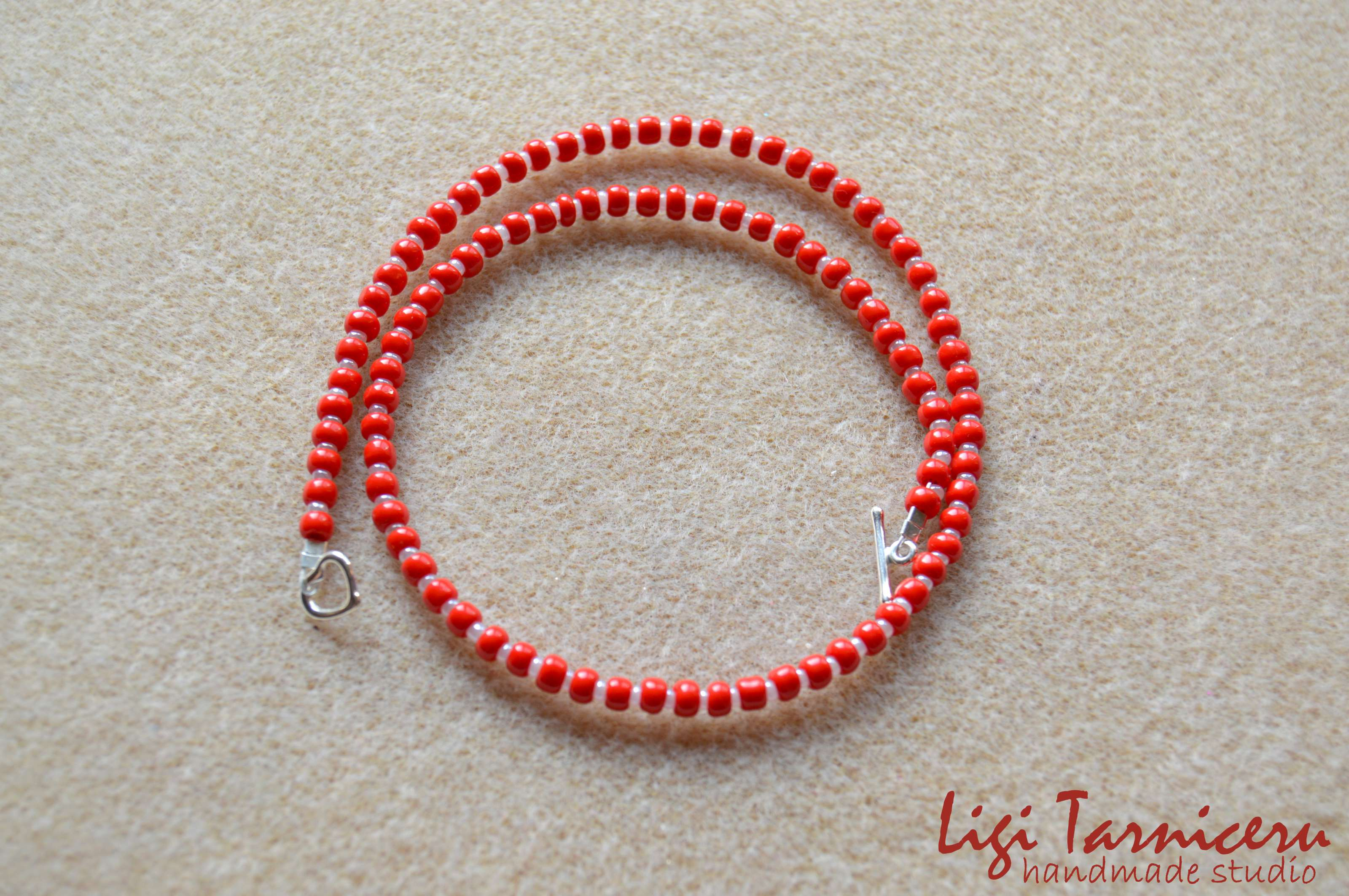 Toho beads necklace for girls