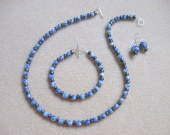 Sodalite and hematite set
