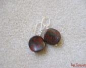 Mookaite jasper earrings w